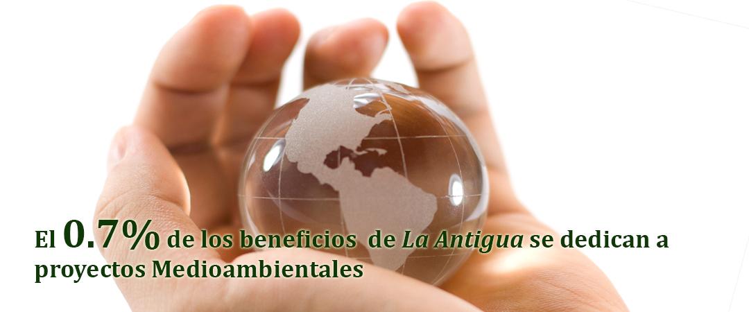 El 0,7% de los beneficios de La Antigua se dedican a proyectos medioambientales
